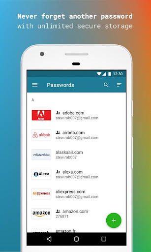 Dashlane Free Password Manager screenshot 1