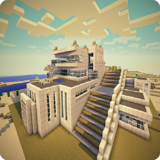 The idea of a modern home for minecraft 1.0 screenshots 8