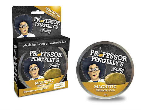 Professor Pengelly's Putty - Magnetic Gold