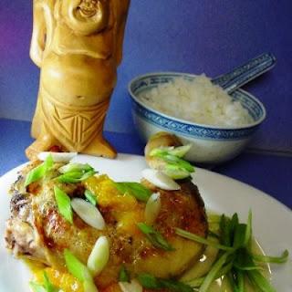 Mandarin Sesame Baked Chicken