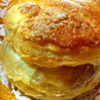 Almond Nutella Pastry.