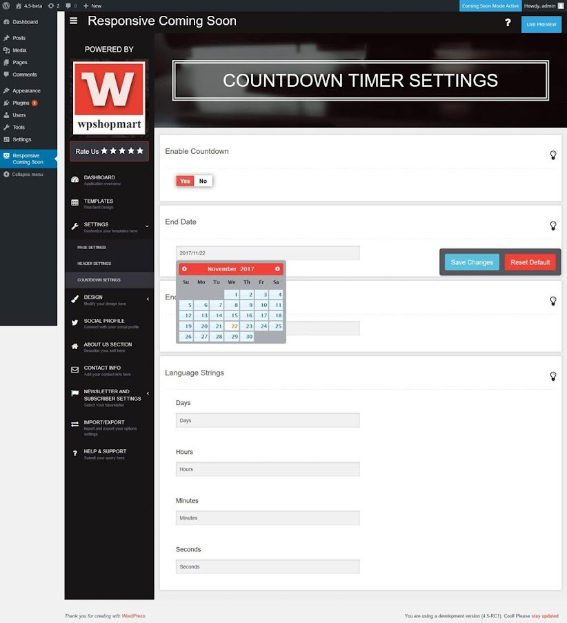 Coming-Soon-Page-and-Maintenance-Mode-countdown-timer-settings