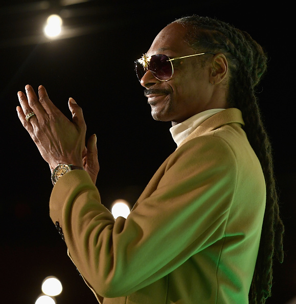 American rapper Snoop Dogg also scooped a World Emoji award for excellence in emoji use.