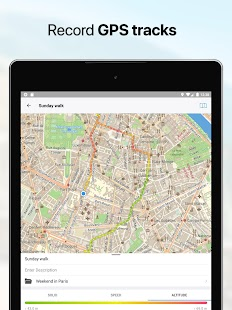 Guru Maps Pro - Offline Maps & Navigation Screenshot