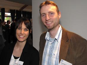 Photo: Gespräche beim Jahresempfang der Stiftung Gesundheit 2012