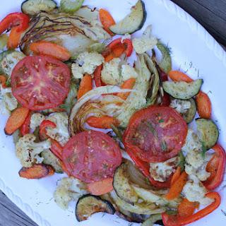 Armenian Roasted Vegetables.