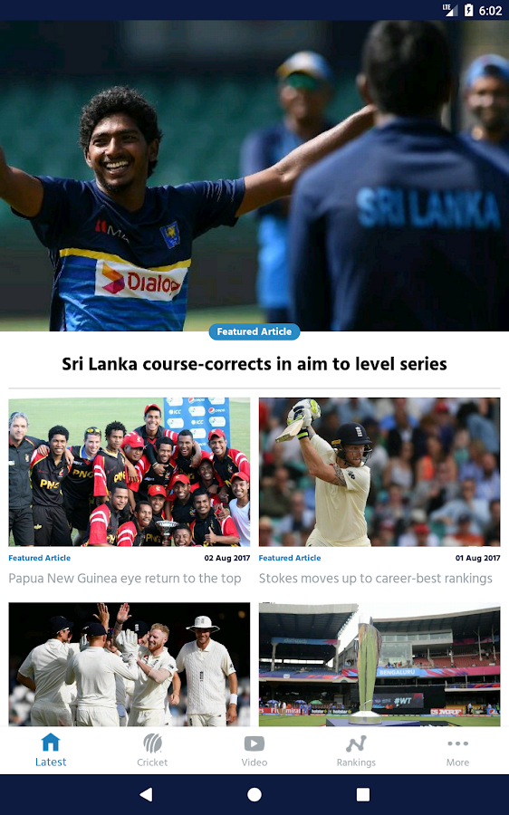 ICC Cricket- screenshot