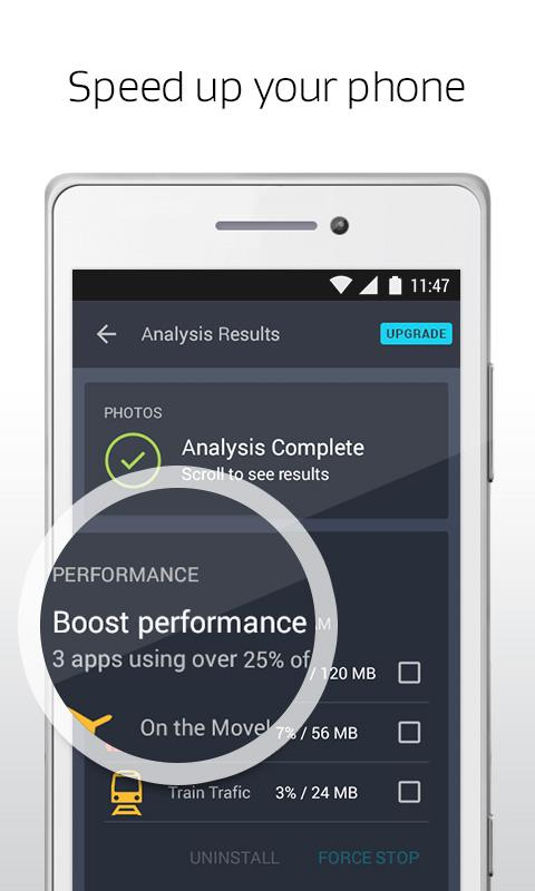 AVG Cleaner, Booster & Battery Saver for Android- screenshot