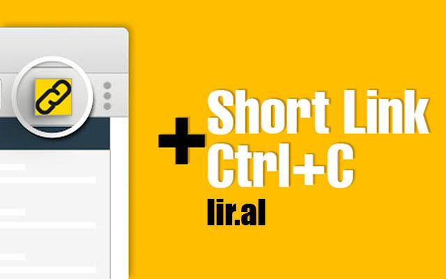 Make Shortlink + Copy link = Liral