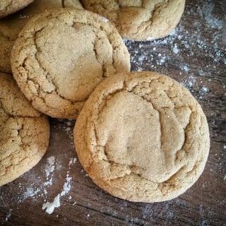 Ginger Molasses Cookies (Talkeetna Roadhouse Copycat)