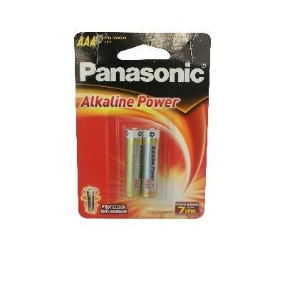 bateria panasonic alkaline power aaa 2und Panasonic