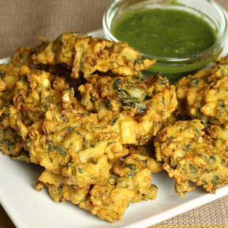Mixed Vegetable Pakoras