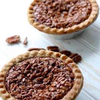 Mini Pecan Pies.