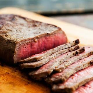Mom's Pan-fried London Broil Steak