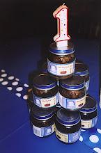 Photo: Gus' 1st Birthday Baby Food Cake