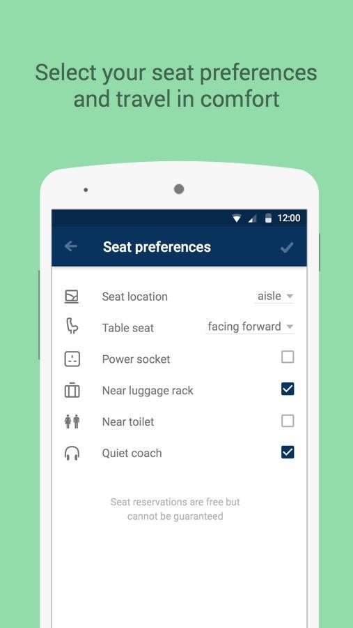 thetrainline – times & tickets - screenshot