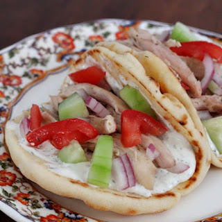 Simple Chicken Gyros