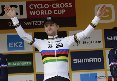 Winnaar van Wereldbeker in Bern Eli Iserbyt wilde net als in Amerika graag bij de elite starten, maar...