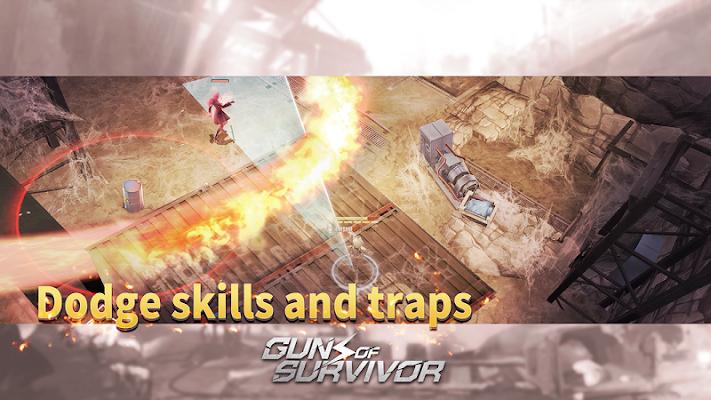 Guns of Survivor Screenshot Image