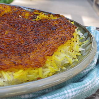 Crispy Persian Rice (Polo Tahdig)