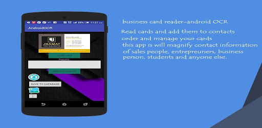 Business card reader android ocr apps on google play reheart Gallery