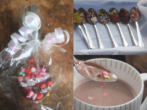 Put each spoon in a cellophane bag and tie with a ribbon or whatever...