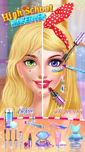 School Makeup Salon  screenshots 2