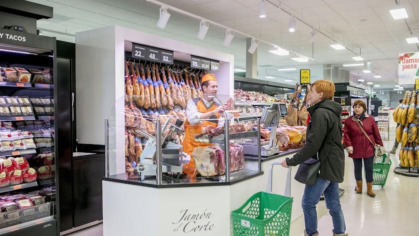 Un establecimiento de la cadena de supermercados en almería.