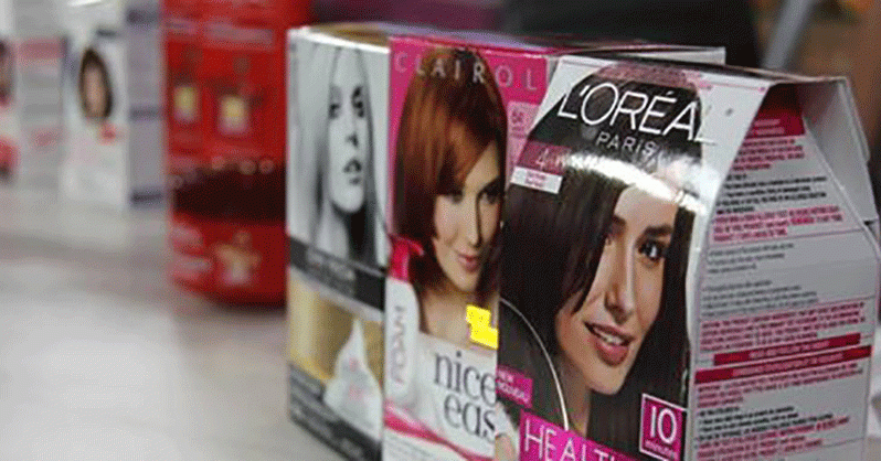 Chemicals in popular women's hair dyes linked to cancer. Use Coffee Instead.