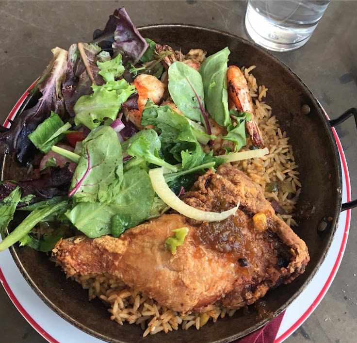 The Honey Pot Fried Chicken Jambalaya. Photo: leave.full