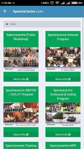 Training SpectraCentre Screenshot