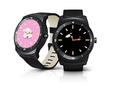 Sushi Watch Face - Moto 360 screenshot 4
