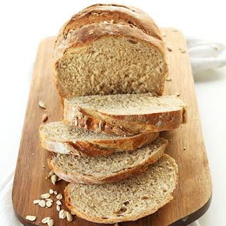 Easy Whole Grain Seeded Bread.