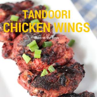 Tandoori Chicken Wings {Giveaway}