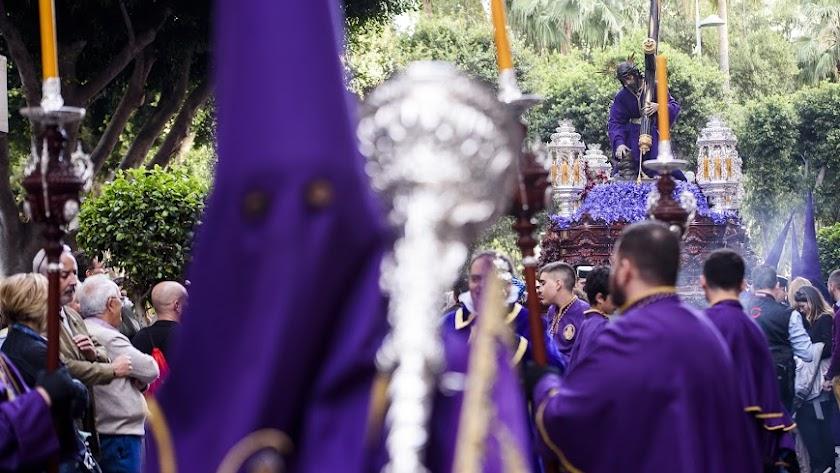 Pasión podría ser la primera hermandad en procesionar en Almería capital.