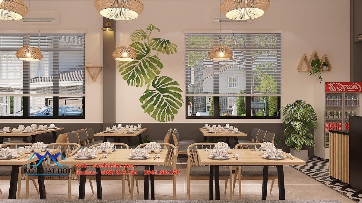 thiết kế nhà hàng trường giang 13