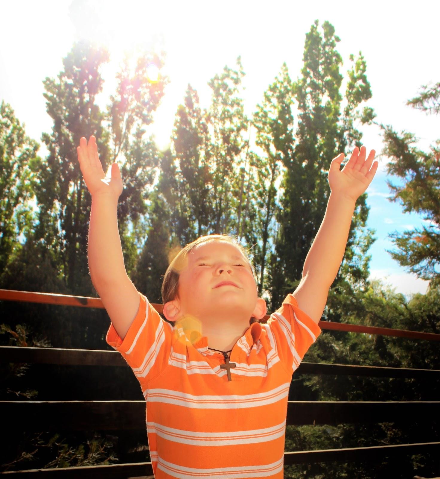 Comment présenter Dieu aux enfants ?