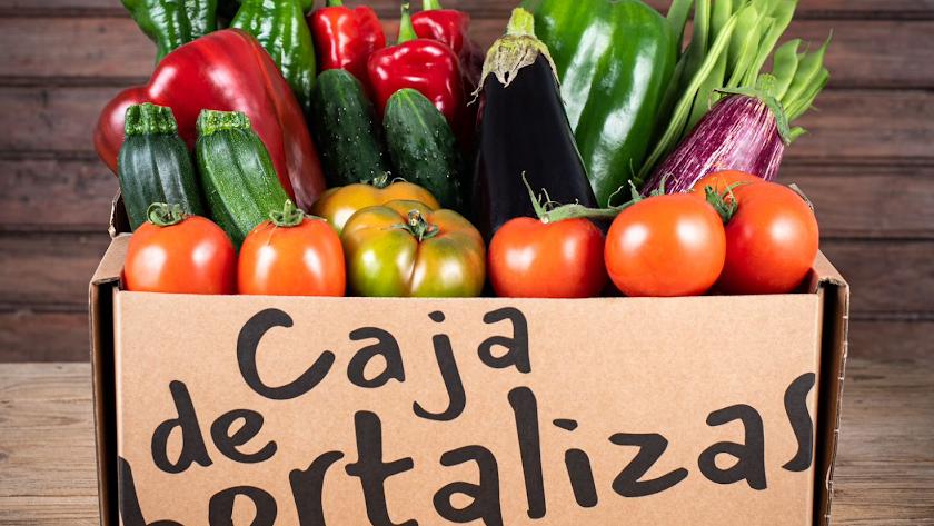 Productos on line en www.cajadehortalizas.com.