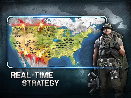 War Planet Online: Real Time Strategy MMO Game  screenshots 8