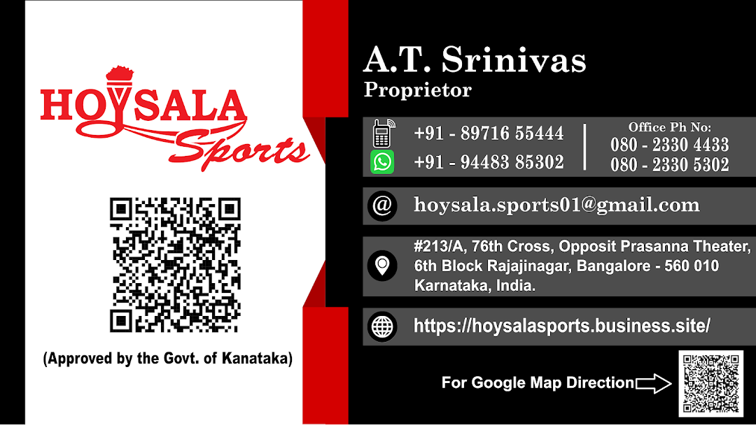 HOYSALA SPORTS - Sports and Fitness equipment's wholesale store on