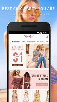 Rosegal-Chic Shopping Deals - screenshot