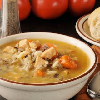 Curried Chicken Wild Rice Soup.