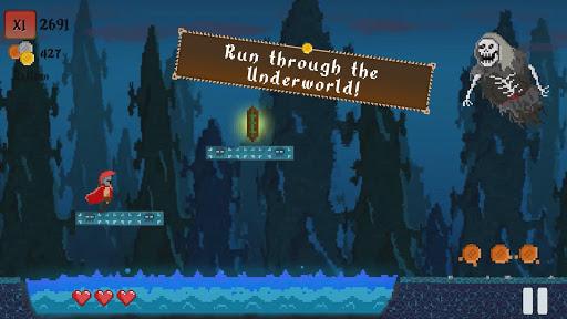 Spartap - Pixel Endless Runner apkmind screenshots 5