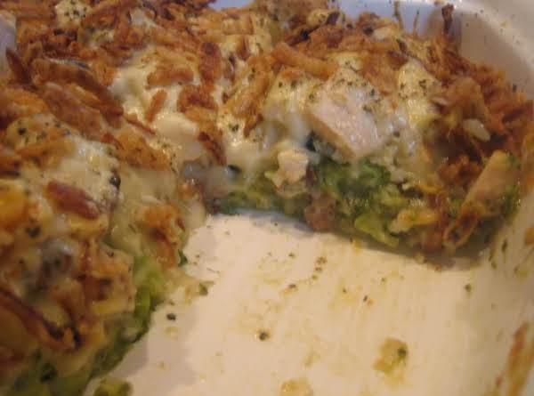 Chicken & Broccoli Casserole Recipe