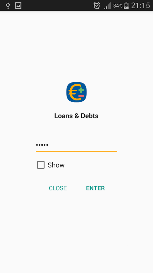 Loans & Debts: Notepad- screenshot