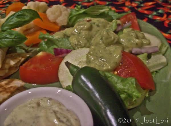 Southwest Salad With Avocado Dressing Recipe