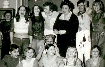 Photo: Bal 1971 r. E.Szczygłowska,A.Siwiec,A.Janczy,Bina Wyrwowa, J.Adamcio,B.Bosiówna,M.Sierant, M.Krakowiak, E.Majewska, R.Romański, J.Osiecka