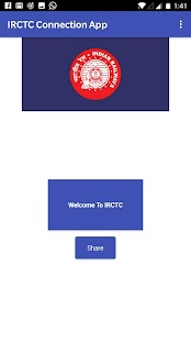 IRCTC Connecting App - náhled