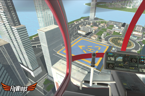 Helicopter Simulator 2015 Free- screenshot thumbnail