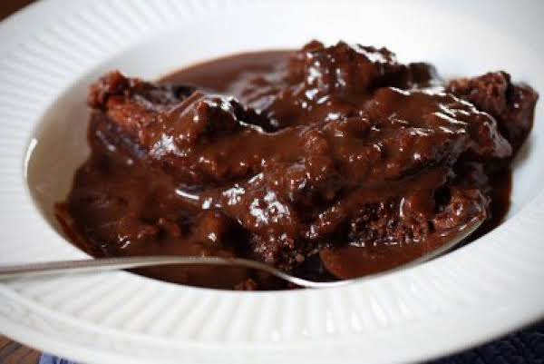 Micro Chocolate Pudding Cake